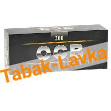 Сигаретные гильзы OCB Black 200