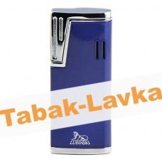 Зажигалка Lubinski Stresa WA139 - 4  Blue (турбо)
