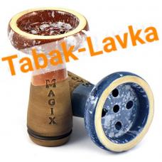Чашка для кальяна глиняная - Magix - Classic (глазурь)