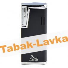 Зажигалка Lubinski Stresa WA139 - 3  Black (турбо)