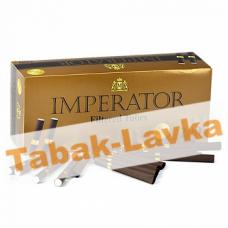 Сигаретные гильзы Imperator BROWN - Gold Filter 25mm (200 шт.)
