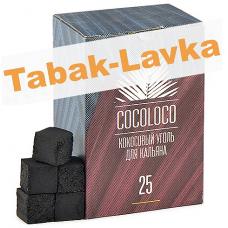 Уголь для кальяна CocoLoco 25 мм (72 шт)