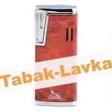 Зажигалка Lubinski Stresa WA139 - 5  Red (турбо)