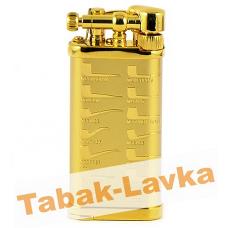 Зажигалка трубочная Im Corona 64-5415 Old Boy Gold Plated Pipe Design