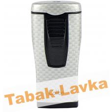 Зажигалка Colibri Monaco - LI 880 T11 (Carbon Fiber - Silver)