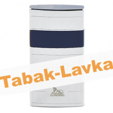 Зажигалка Lubinski Mantova WA550 - 3 Silver\Blue (турбо)