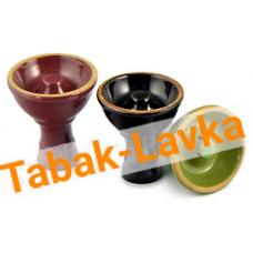 Чашка для кальяна керамическая - СРЕДНЯЯ (в ассортименте)