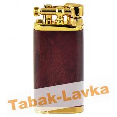 Зажигалка трубочная Im Corona 64-5012 Old Boy Brown Gold