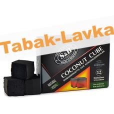 Уголь для кальяна S&B (165г) 12 куб