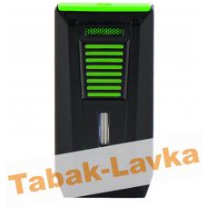 Зажигалка Colibri Slide LI850 T16 - Slide Black\Green (Сигарная)