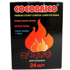 Уголь для кальяна Cocobrico 24 шт