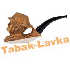 Трубка глиняная Parol - Арт. P50005 - Sherlock Brown (фильтр 9 мм)