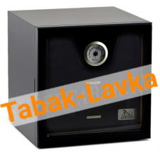 Хьюмидор-шкаф Lubinski на 100 сигар арт. Q216 (Чёрный Лак)
