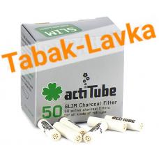Фильтры для самокруток 7мм actiTube (50шт)