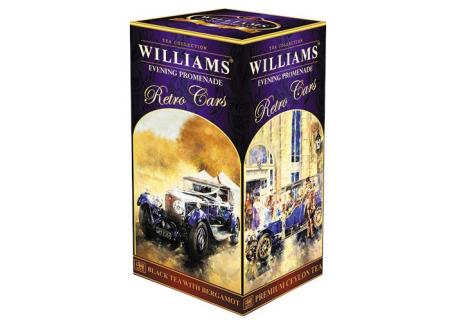 Чай Williams - Retro Cars - Evening Promenade (черный с бергамотом) - (Большой 250 ГРАММ)
