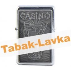 Зажигалка Бензиновая Z16 Казино (в ассортименте) арт.03026