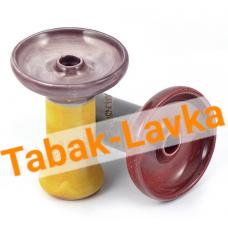 Чашка для кальяна глиняная - SM Тучка FANEL (Глазурь)