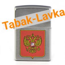 Зажигалка Zippo 200 - Герб России (Coat of arms Russian)