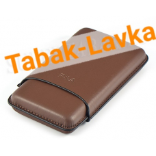 Футляр P&A на 3 сигары Cohiba Behike 56 - FK 1348 (Brown)