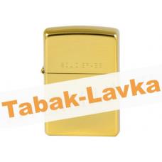 Зажигалка Zippo 254 Solid Brass (Gold)