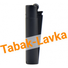 Зажигалка Clipper - СМ054 (Black mat)