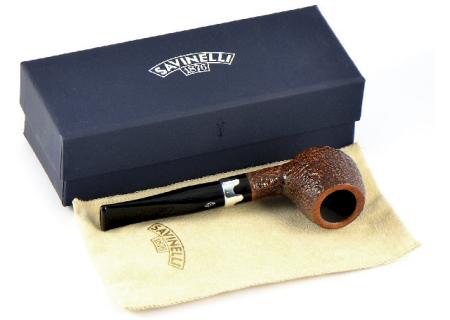 Трубка Savinelli Lancelot - Rustic 207 (6 мм фильтр)