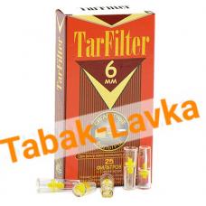 Мундштук TarFilter мини-фильтр 6мм Слим  (25 шт.+5 адаптеров)