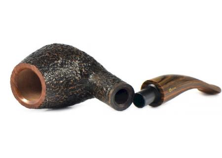 Трубка Savinelli Tundra - BrownBlast 628 (фильтр 9 мм)