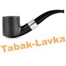 Трубка WoodPipe - Груша 006 - Чёрная - (фильтр 9 мм)