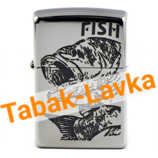 Зажигалка Zippo 250 - Fish - Big mouth