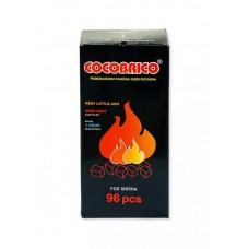 Уголь для кальяна Cocobrico 96 шт