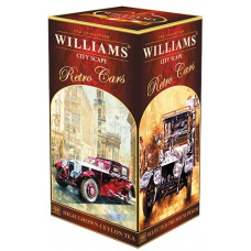 Чай Williams  - Retro Cars - City Scape (черный Pekoe) - (Большой 250 ГРАММ)