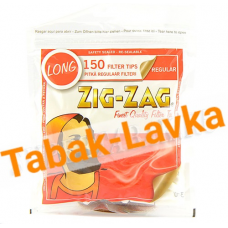 Фильтры для самокруток 7.5 мм Zig Zag LONG (150 шт)
