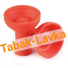 Чашка для кальяна Силиконовая JL-201P (под калауд) - Красная