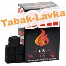 Уголь для кальяна Cocobrico FLAT - 108 шт