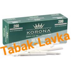 Сигаретные гильзы Korona Menthol De Luxe (200 шт.)