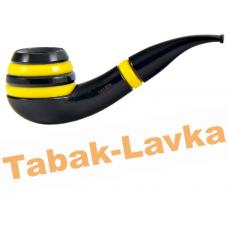 Трубка Vauen Stripe 237 Black/Yellow (фильтр 9 мм)