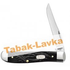 Нож перочинный Zippo - Rough Black Synthetic Mini Trapper + Зажигалка (50573_207)