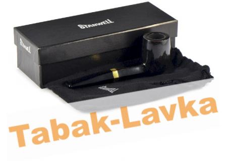 Трубка Stanwell - Black Diamond - Pol 190 (фильтр 9 мм)