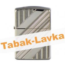 Зажигалка Zippo 29422 - Coils - High Polish Black Ice®