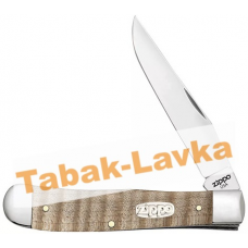 Нож перочинный Zippo - Natural Curly Maple Wood Trapper + Зажигалка (50604_207)