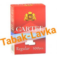 Фильтры для самокруток 8мм Cartel (100 шт) В коробке