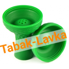 Чашка для кальяна Силиконовая JL-201P (под калауд) - Зеленая