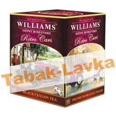 Чай Williams - Retro Cars - Sunny Boulevard (черный Orange Pekoe) - (125гр)