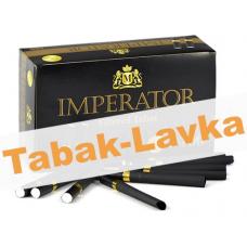 Сигаретные гильзы Imperator Black - Gold Filter 25mm (100 штук)