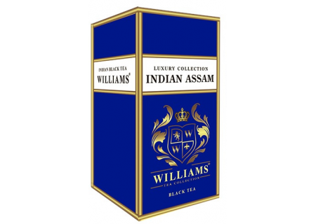 Чай Williams - Luxury Collection - Indian Assam (черный) - (150гр)