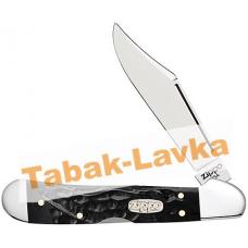 Нож перочинный Zippo - Rough Black Synthetic Mini CopperLock + Зажигалка (50623_207)