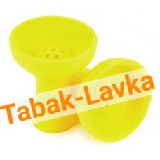 Чашка для кальяна Силиконовая JL-201P (под калауд) - Желтая