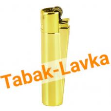 Зажигалка Clipper - СМ010 (gold)