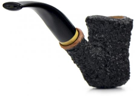 Трубка Brebbia - Naif - Rustica Nero - 7069 (фильтр 9 мм)